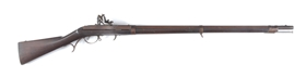 (A) VERY FINE MODEL 1819 HARPERS FERRY HALL FLINT MUSKET, DATED 1837.