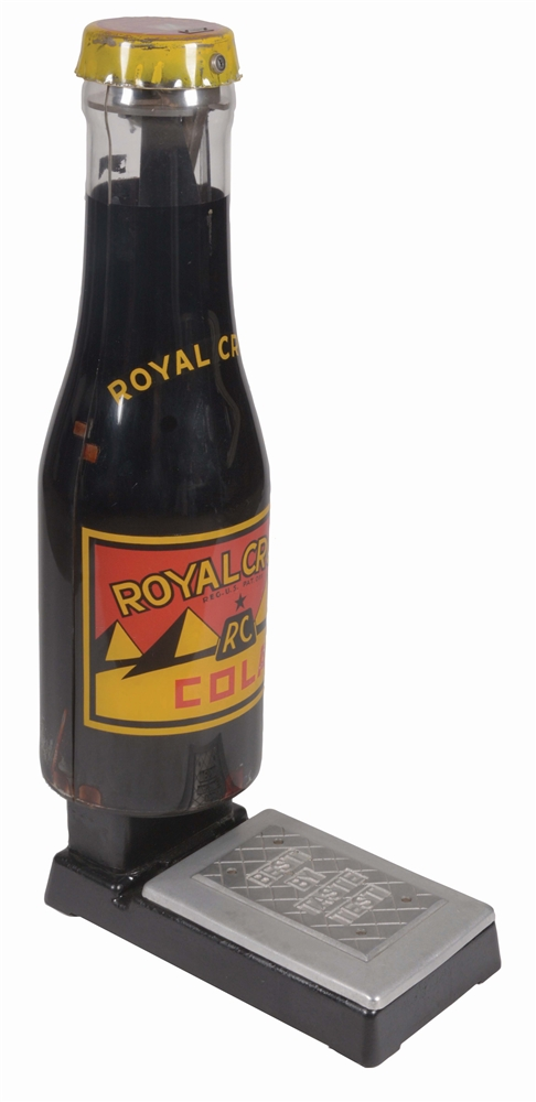 ADVERTISING SCALES CO. 1¢ ROYAL CROWN COLA SCALE.