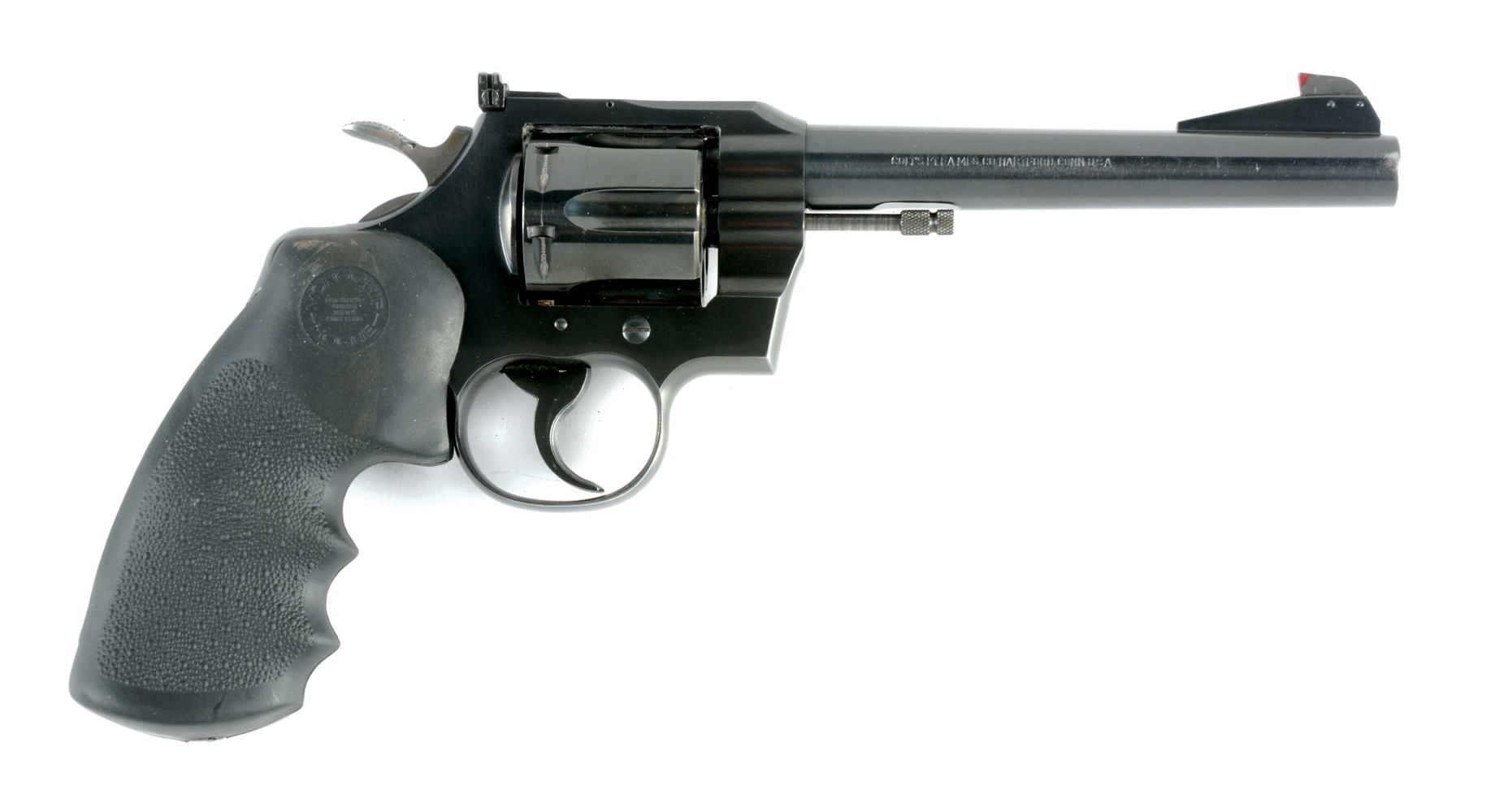 (C) COLT OFFICERS MODEL TARGET .38 SPECIAL DOUBLE ACTION REVOLVER.