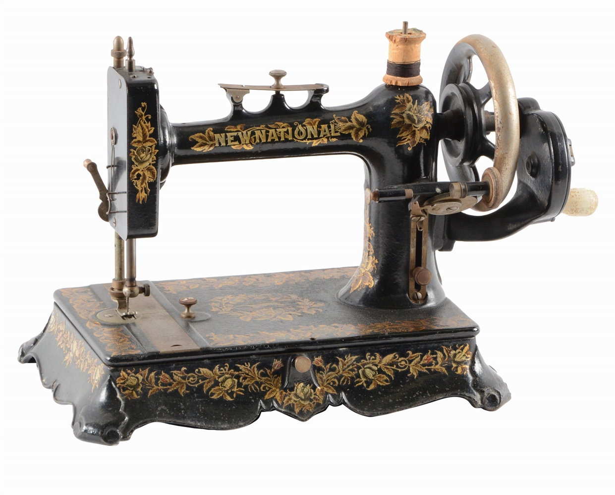NEW NATIONAL SEWING MACHINE.