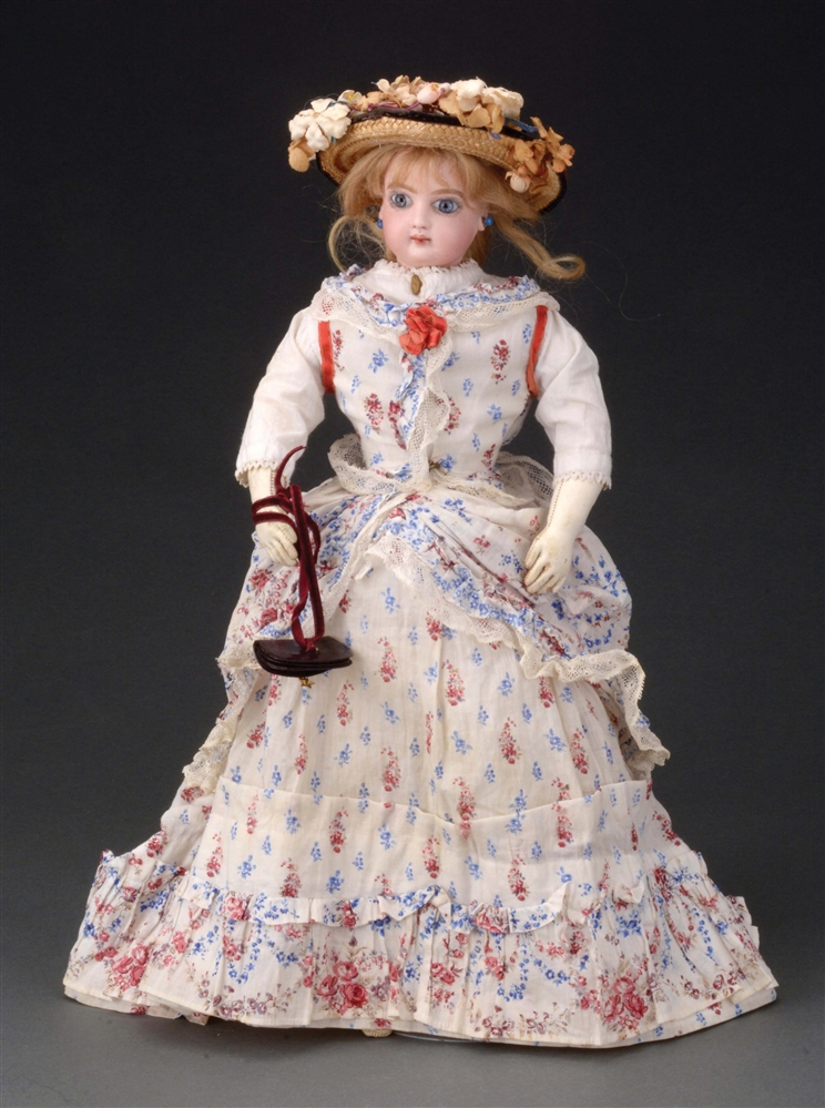 FRENCH FASHION DOLL ATTRIBUTED TO JUMEAU.