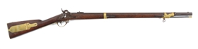(A) ELI WHITNEY .54 CALIBER N. HAVEN 1841 STYLE PERCUSSION RIFLE.