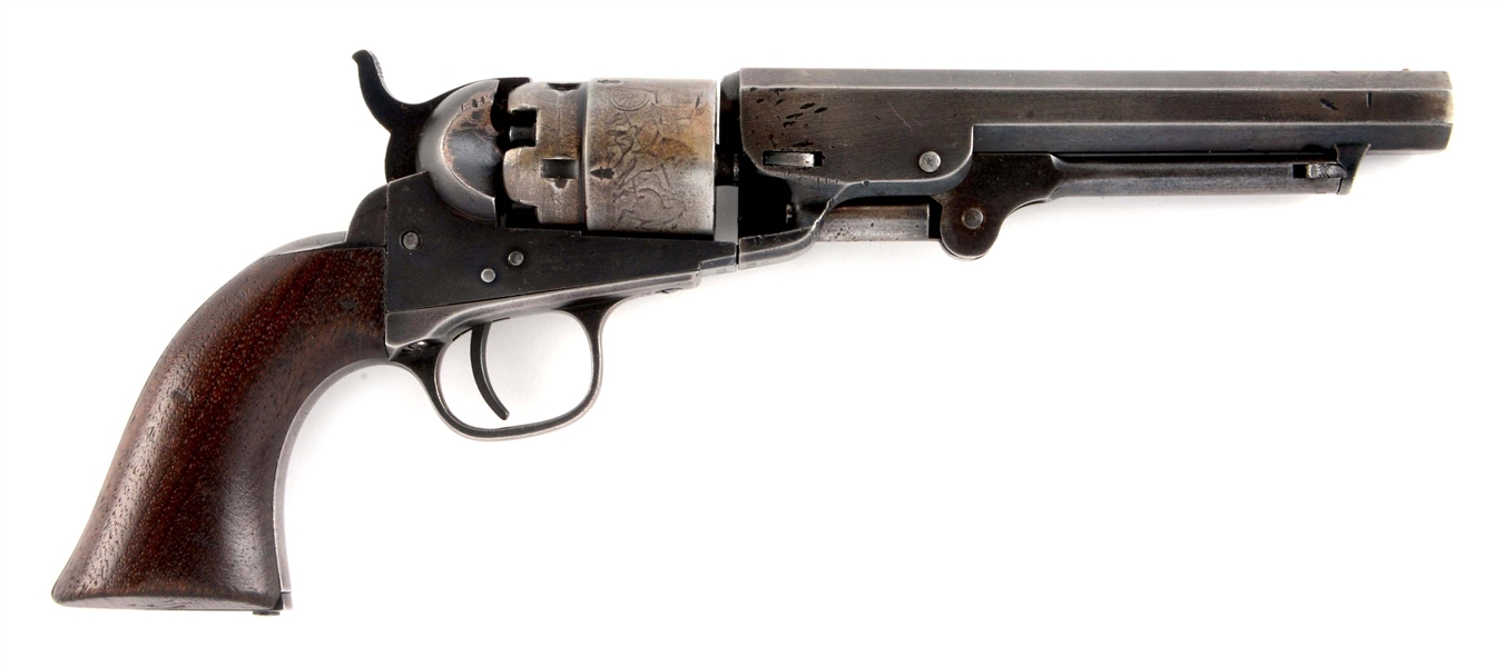 (A) SCARCE COLT LONDON POCKET NAVY MADE IN 1868.