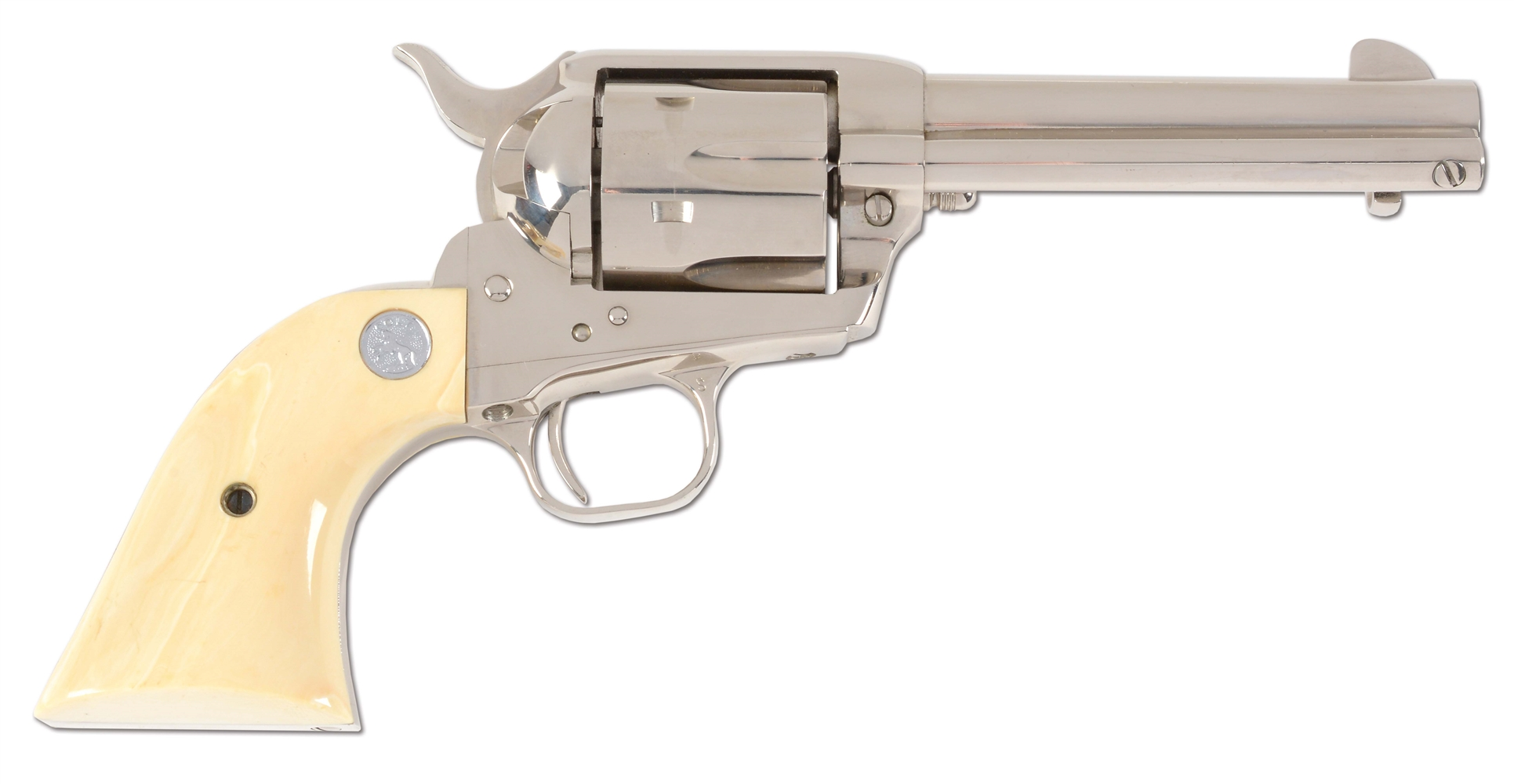 (M) COLT SINGLE ACTION ARMY .45 ACP REVOLVER WITH CASE