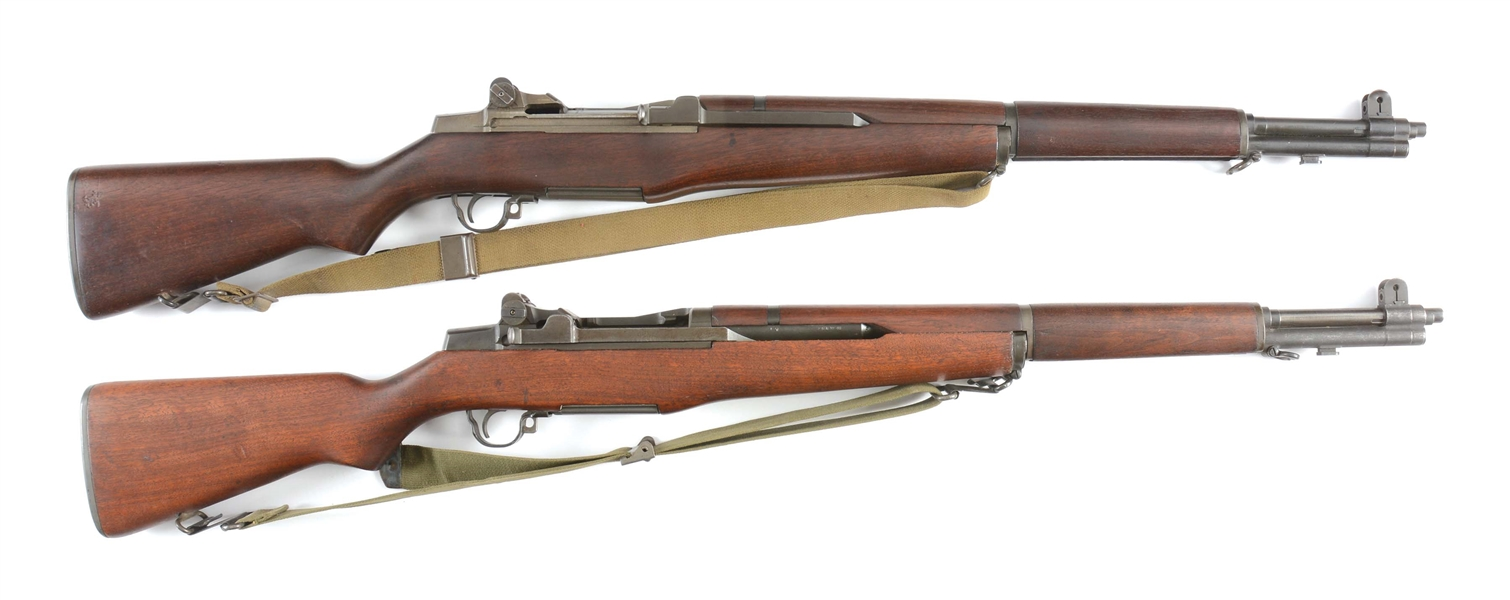 (C) LOT OF TWO: TWO SPRINGFIELD M1 GARANDS