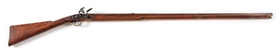 (A) HENRY BUCK AND BALL FLINTLOCK RIFLE.