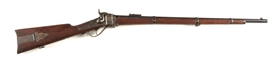 (A)UNCOMMON MODEL 1874 SHARPS MILITARY RIFLE.
