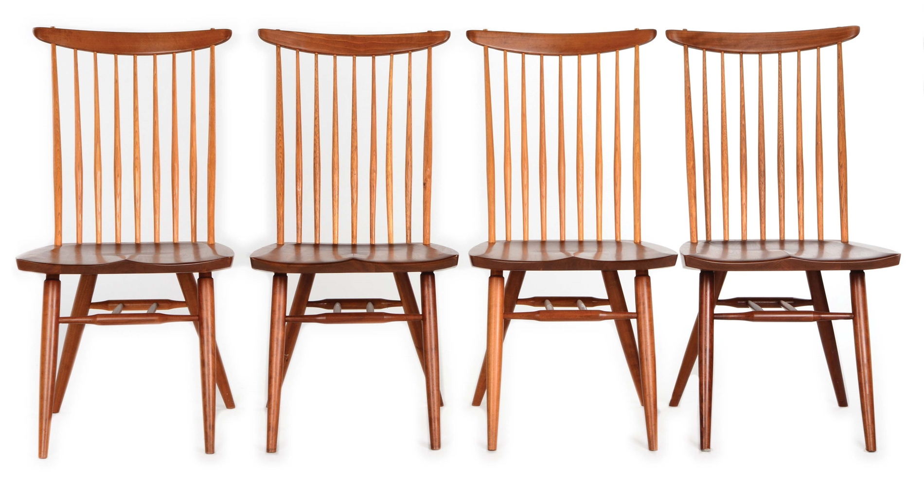 SET OF FOUR NEW CHAIRS BY GEORGE NAKASHIMA