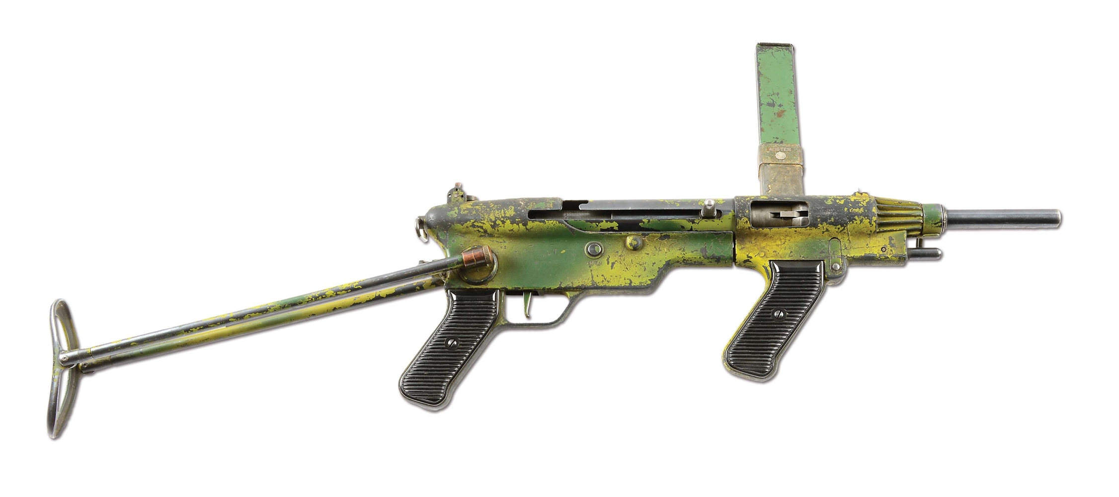 (N) EXTREMELY RARE ORIGINAL FULLY TRANSFERABLE AUSTEN MK II XP MACHINE GUN (CURIO AND RELIC).