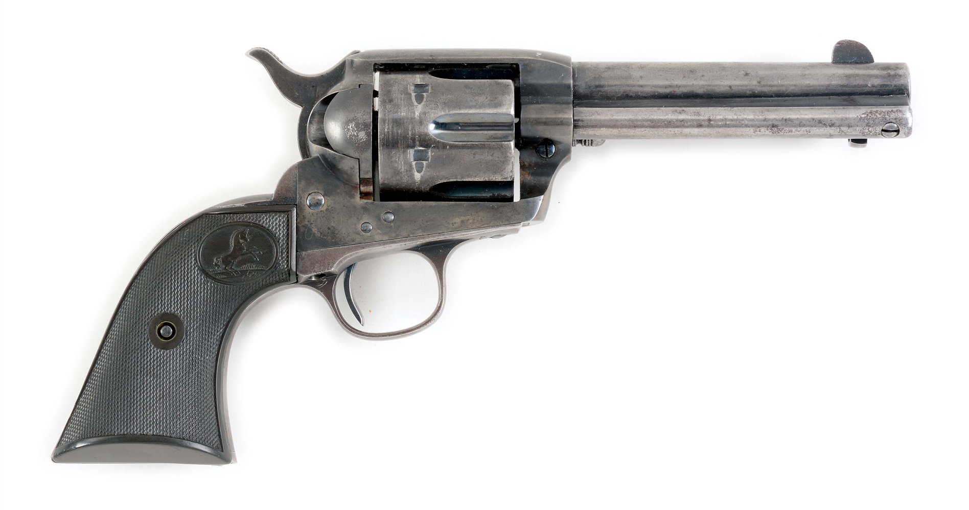 (C) COLT SINGLE ACTION ARMY REVOLVER.