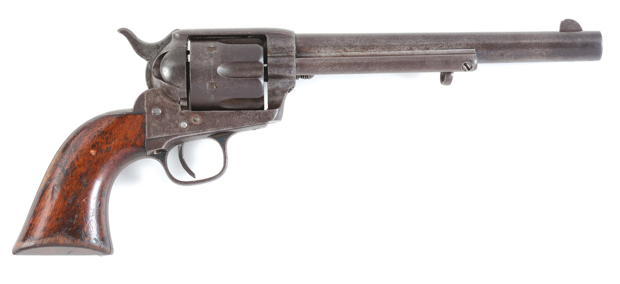 (A) COLT SINGLE ACTION ARMY .44-40 REVOLVER.