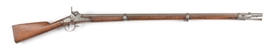 (A) MEXICAN WAR PERIOD HARPERS FERRY MODEL 1842 .69 CALIBER MUSKET DATED 1846