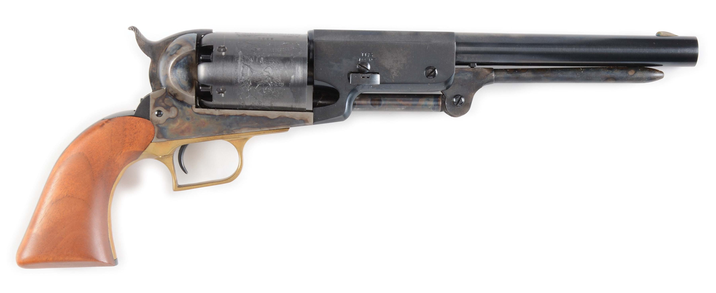 (A) REPRODUCTION COLT WALKER SINGLE ACTION PERCUSSION REVOLVER.
