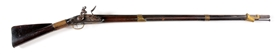 (A) REVOLUTIONARY WAR PERIOD AMERICAN FLINTLOCK MUSKET MARKED CASWELL.