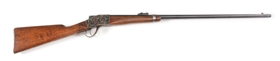 (A) BROWNING BROTHERS UT MARKED SHARPS 1878 FALLING BLOCK SINGLE SHOT RIFLE.
