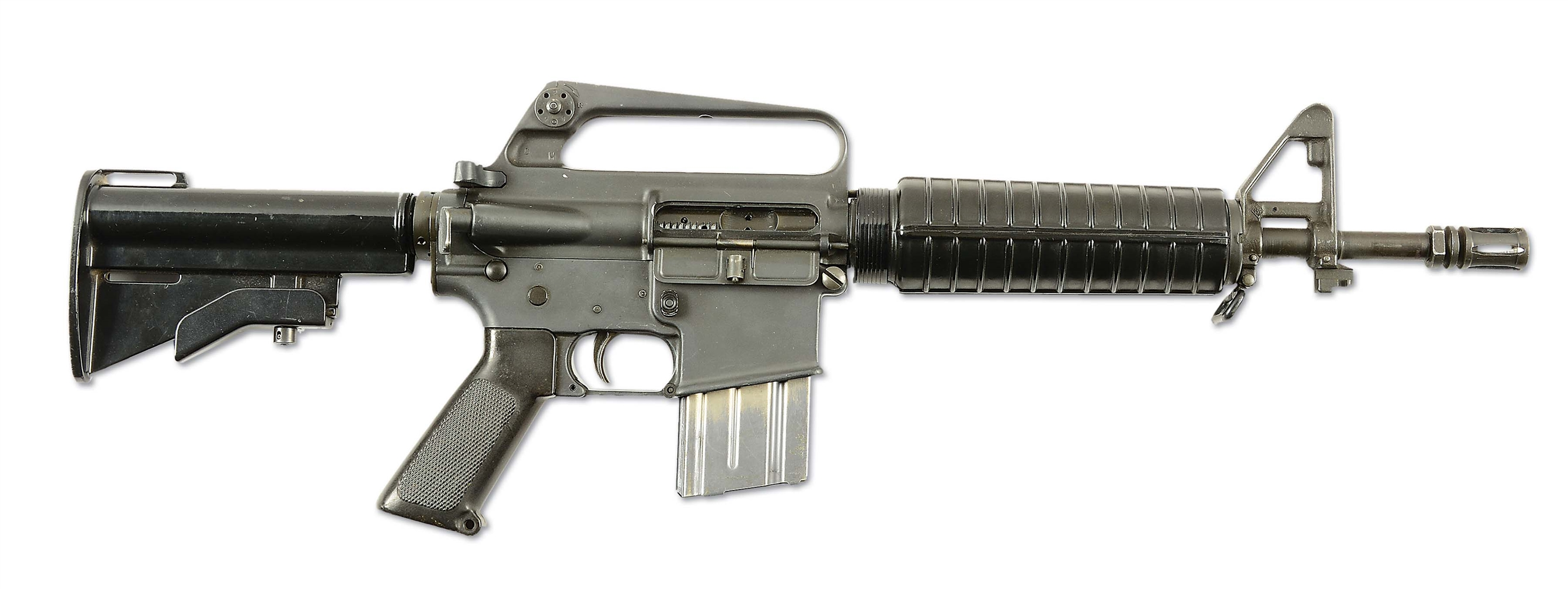 (N) H.T. ARMORY REGISTERED COLT AR-15 A2 SPORTER II (M-16) MACHINE GUN (FULLY TRANSFERABLE).