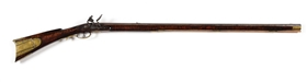 (A) J. HENRY MARKED KENTUCKY STYLE RIFLE.
