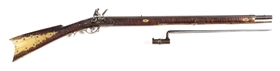 (A) TRYON FLINTLOCK MILITIA RIFLE.