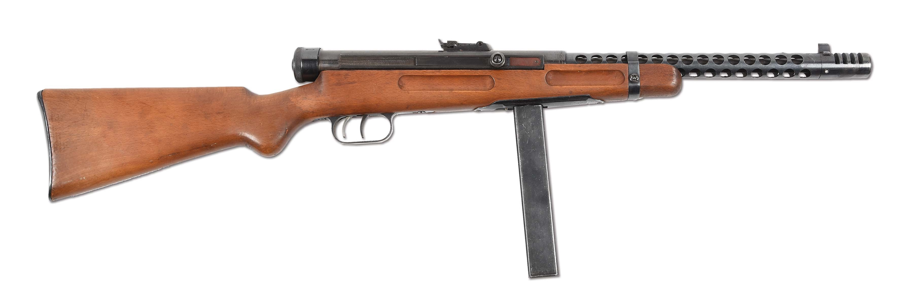 (N) EXCEPTIONALLY FINE CONDITION BERETTA MODEL 38A MACHINE GUN AMNESTY REGISTERED BY BARRY GOLDWATER (CURIO AND RELIC).