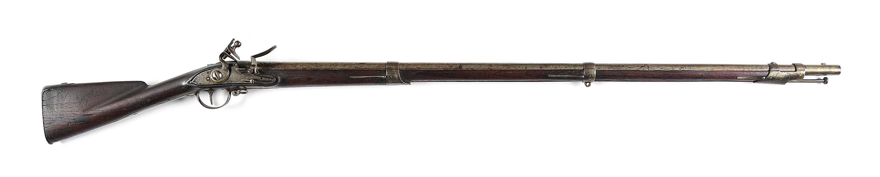 (A) EVANS MODEL 1797 .69 CALIBER PERCUSSION CONTRACT RIFLE.