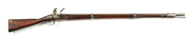 (A) ORIGINAL FLINT MODEL 1816 EVANS VALLEY FORGE MUSKET DATED 1826.
