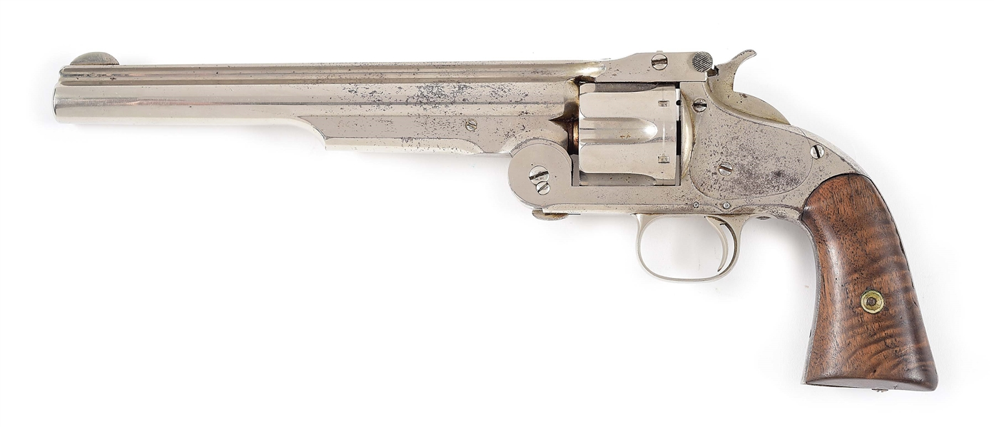 (A) SMITH & WESSON MODEL 3 2ND MODEL AMERICAN.