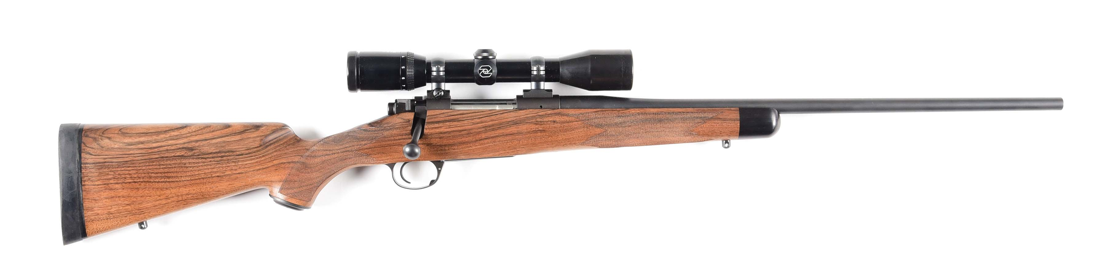 (M) KIMBER 84M SELECT GRADE .308 BOLT ACTION RIFLE WITH SCOPE.