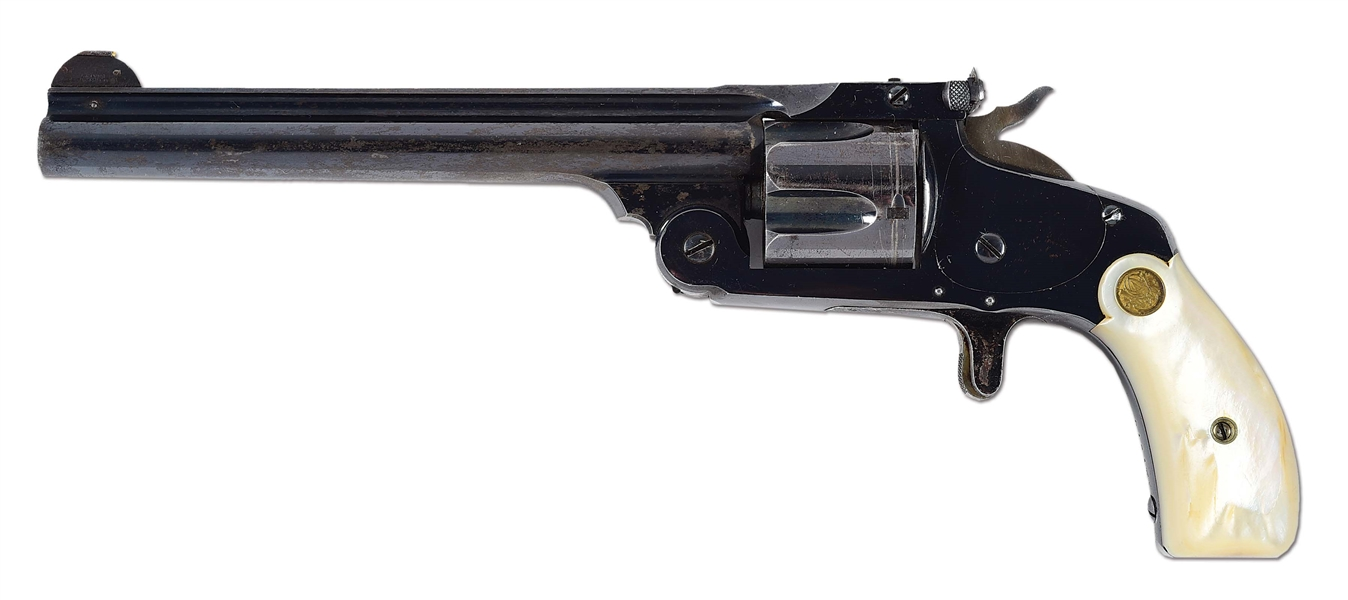 (A) SMITH & WESSON 38 MODEL OF 91 REVOLVER.