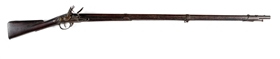 (A) BARTLETT MODEL 1808 .69 CALIBER FLINTLOCK MUSKET.