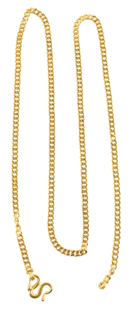 24K GOLD NECKLACE.