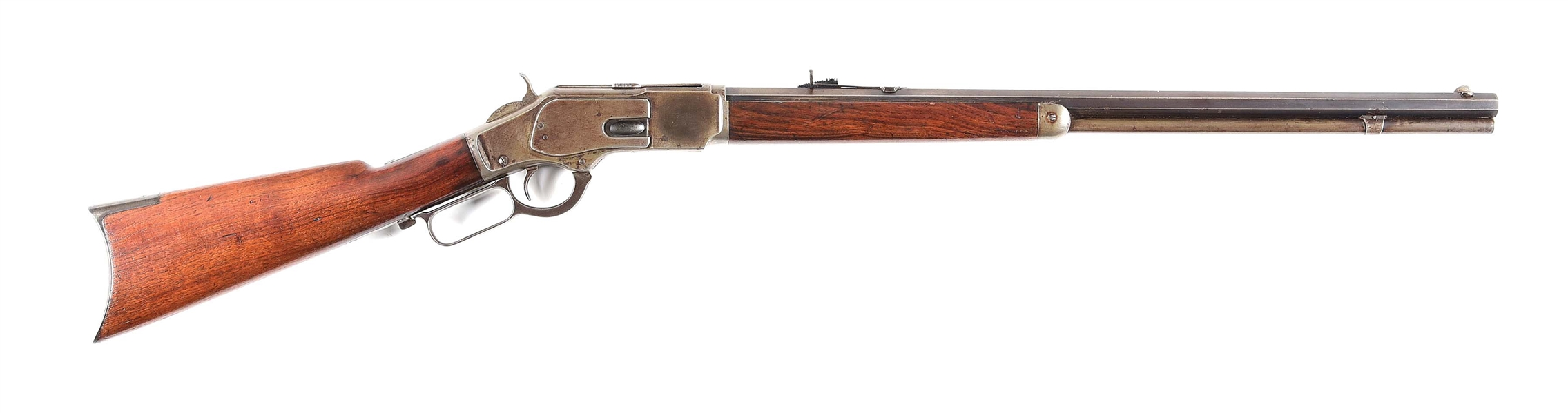 (A) WINCHESTER 1873 .32-20 LEVER ACTION RIFLE.