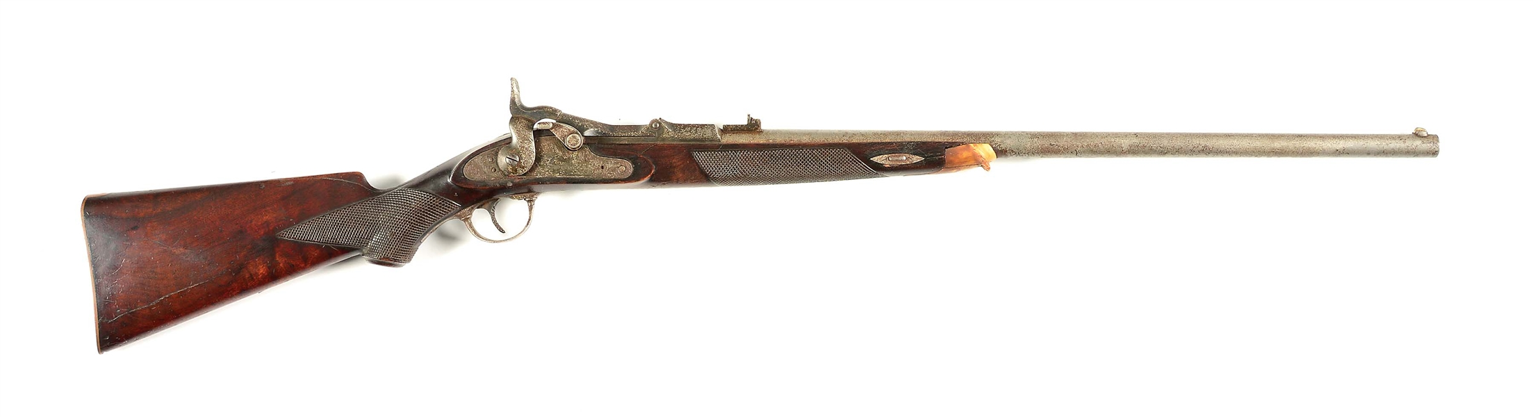 (A) SPRINGFIELD OFFICERS MODEL .45-70 RIFLE.