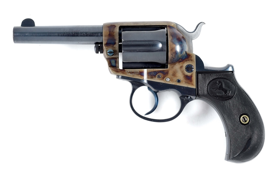 (A) COLT 1877 THUNDERER DOUBLE ACTION REVOLVER