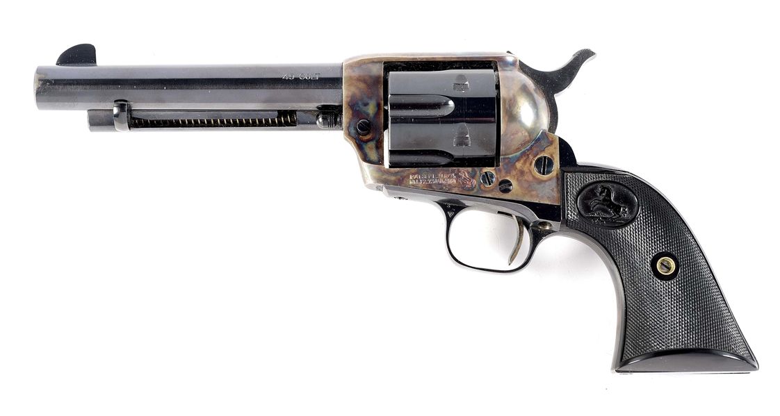 (C) FIRST GENERATION COLT SINGLE ACTION ARMY REVOLVER (1926)