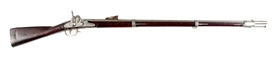 (A) REMINGTON 1858 PERCUSSION MUSKET.