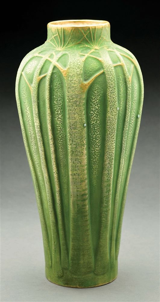 PAUL DACHSEL TALL TREE VASE.
