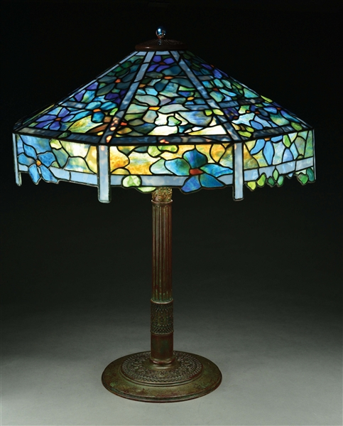 CLEMATIS TABLE LAMP.