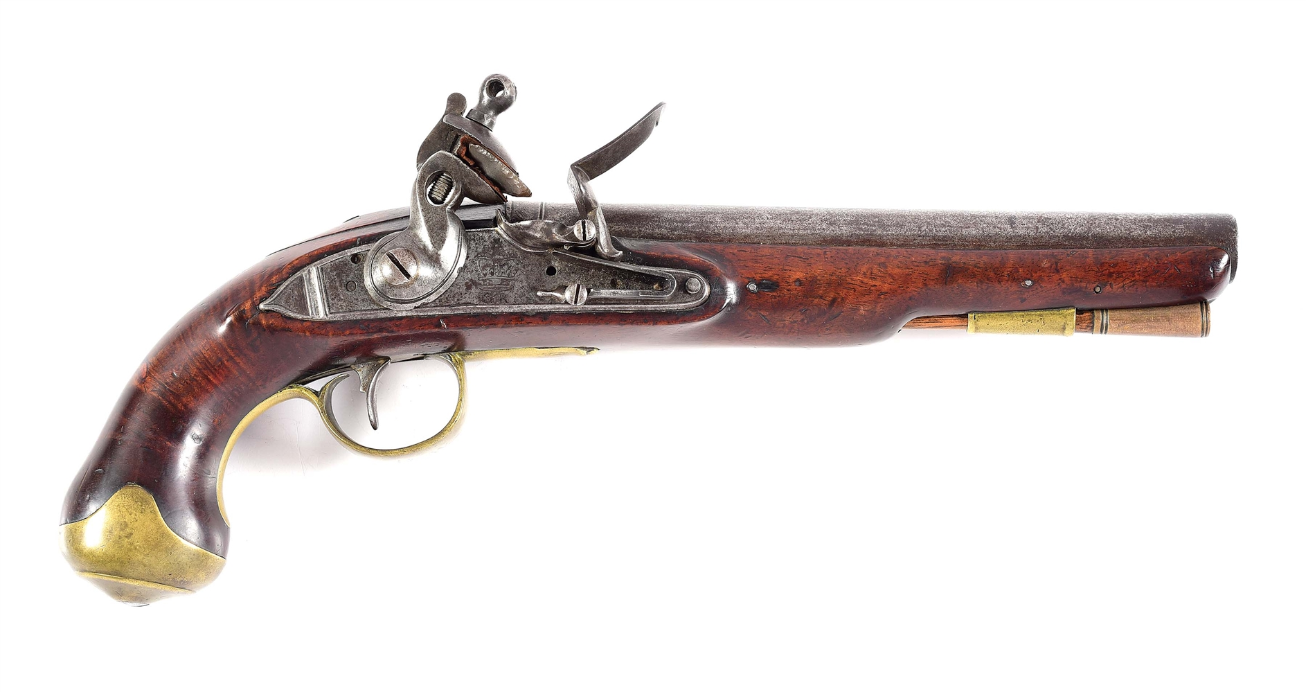 (A) BRITISH LIGHT DRAGOON PISTOL.
