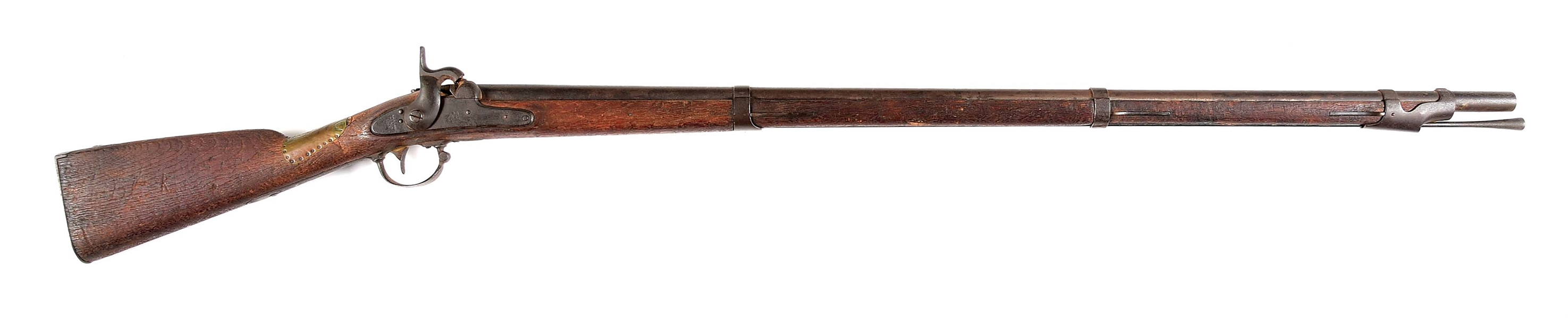 (A) MODEL 1842 SPRINGFIELD PERCUSSION MUSKET FROM BATTLE OF SOUTH MOUNTAIN.