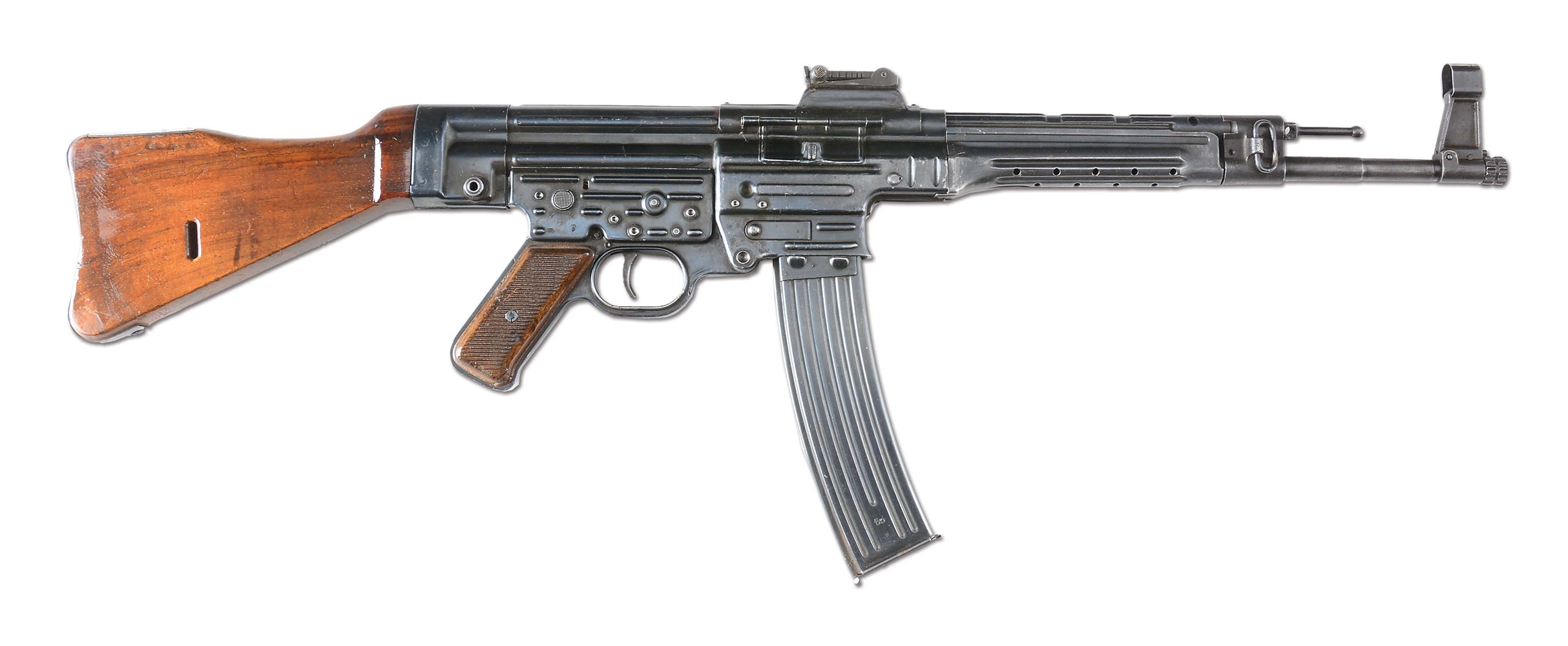 (N) VERY FINE ORIGINAL GERMAN MP-44 MACHINE GUN (CURIO & RELIC).
