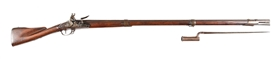 (A) CHARLEVILLE FLINTLOCK RIFLE.