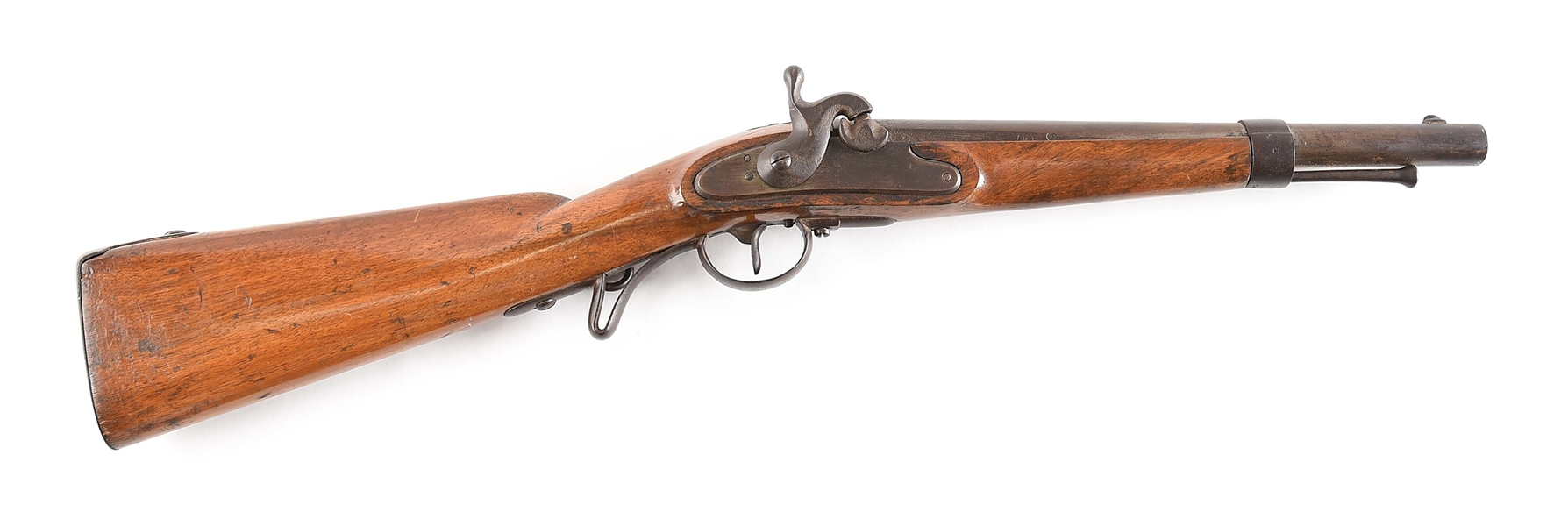 (A) AUSTRIAN CONVERTED PERCUSSION CARBINE.