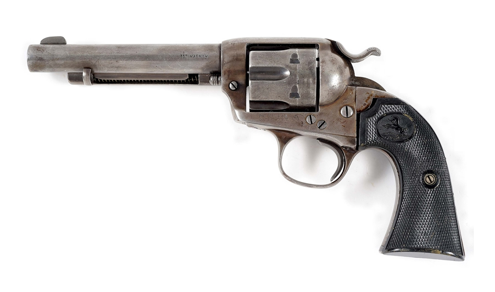 (C) COLT BISLEY SINGLE ACTION .357 MAGNUM REVOLVER.