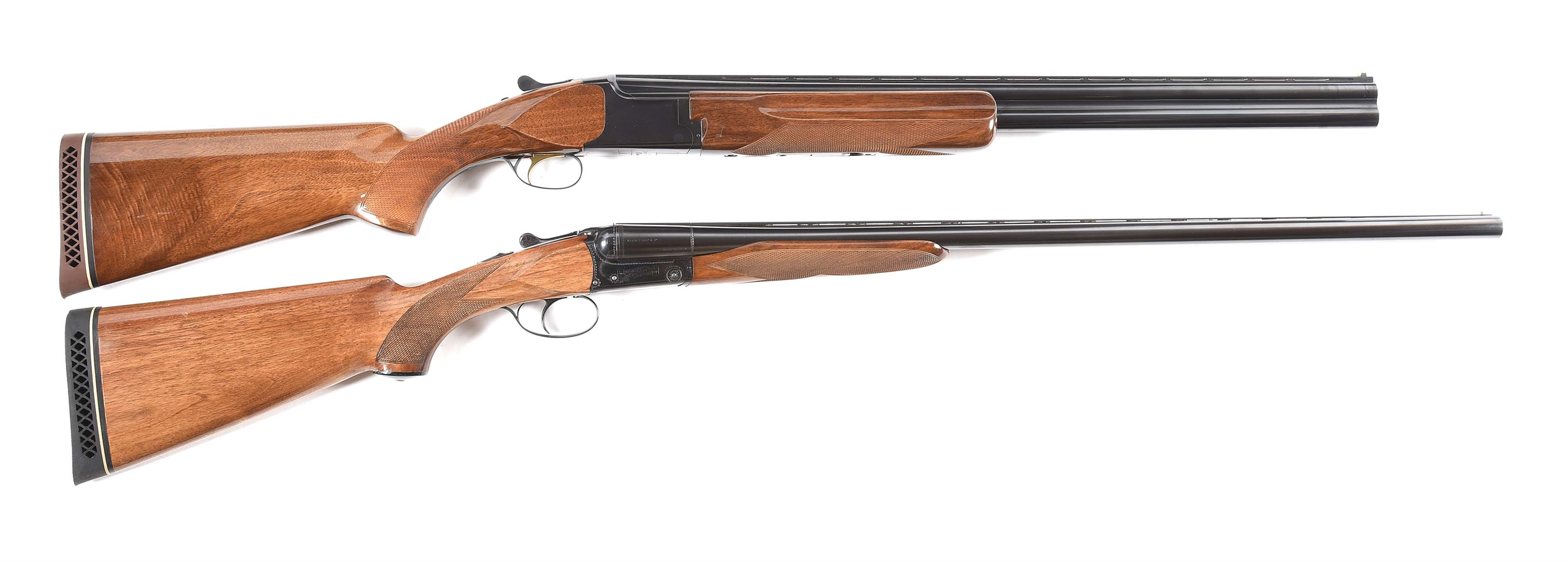 (M) LOT OF TWO 12 GUAGE SHOTGUNS BY BROWNING AND CHARLES DALY