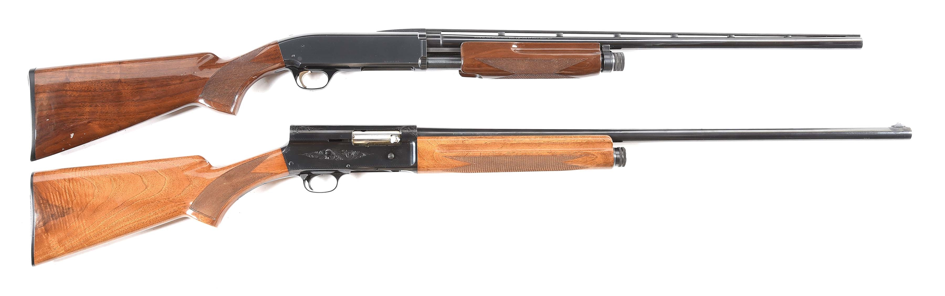(M) LOT OF TWO BROWNING SHOTGUNS: BPS SLIDE ACTION AND MODEL 5 SEMI AUTOMATIC
