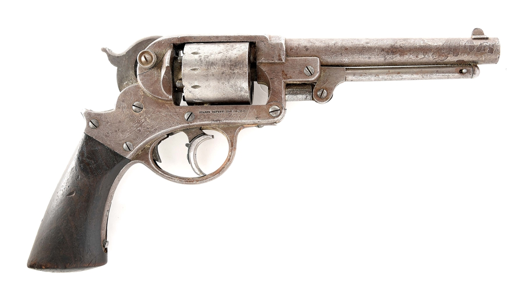 (A) STARR ARMY PERCUSSION REVOLVER.