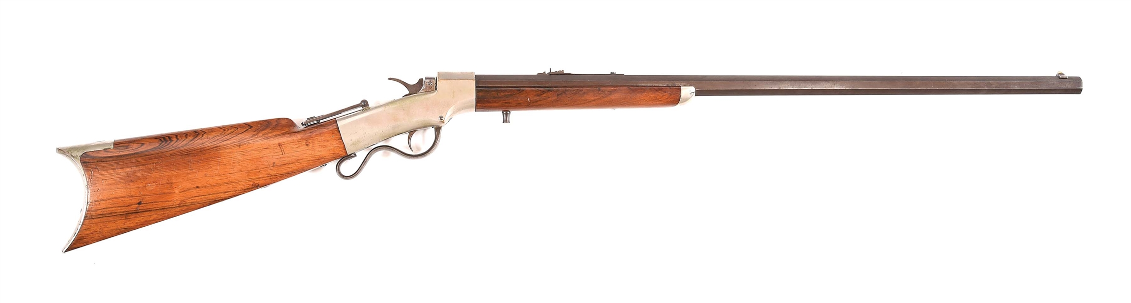 (A) EARLY MARLIN BALLARD SINGLE SHOT SPORTING RIFLE