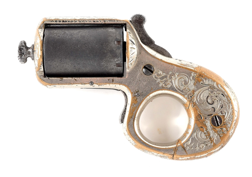 (A) REID MY FRIEND KNUCKLE DUSTER .22 RF PISTOL.