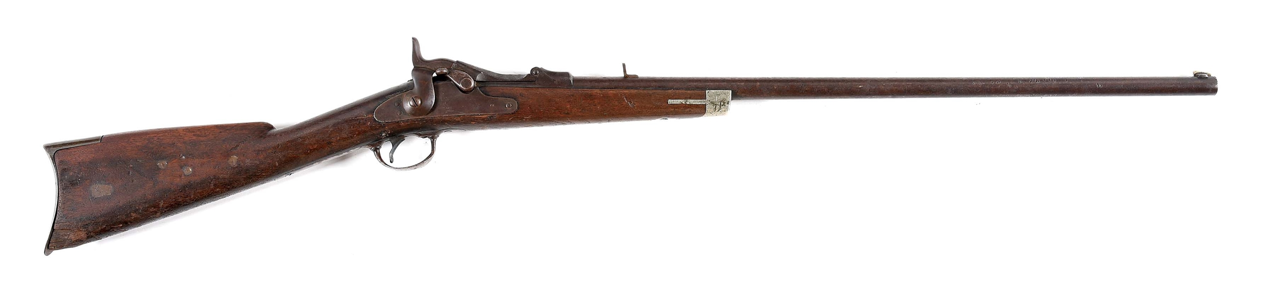 (A) CLASSIC ROCKY MOUNTAIN TRAPDOOR SPORTING RIFLE.