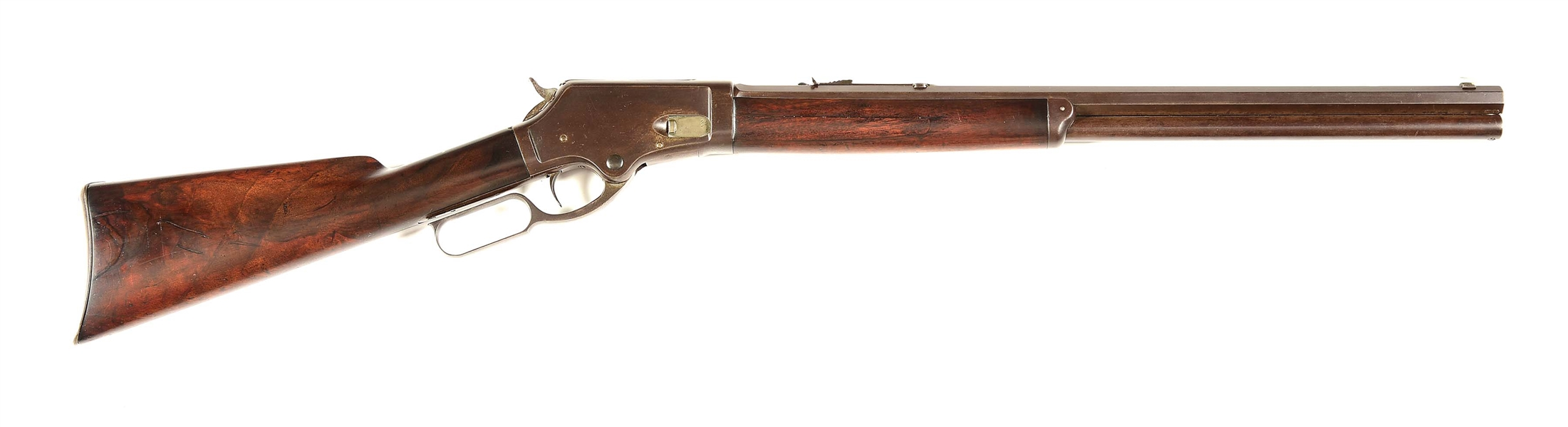 "(A) MARLIN 1881 ""SMOOTHBORE"" LEVER-ACTION RIFLE."
